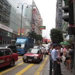 Nathan Road, Rush Hour 24 Std. am Tag :o