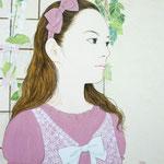 「遠くの羽音』 F6号 2012年 作家蔵