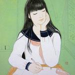 『教室の眠り姫』2016年F4号 作家蔵