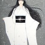 『snow dream』2014年 P8号  個人蔵