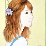 『シュシュ』 F0号 2012年 個人蔵