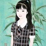 『初夏』 F3号 2012年 個人蔵