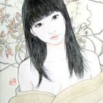 『秋の朝』2017年(2006年制作加筆修正) F0号  個人蔵