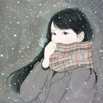 『マフモコ〜ロング〜』2014年F3号  個人蔵