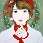 『Merry☆Christmas』2015年 F4号  個人蔵