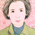 『Y様御贈答品肖像画』2015年 F0号 個人蔵