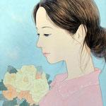『命の花』 F4号 2012年 個人蔵