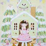 『お菓子の家』2016年F4号 作家蔵