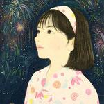『花火祭』2014年F4号  個人蔵