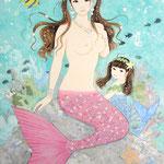 『sea dream』2014年P8号  個人蔵