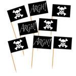 Piratenflaggen für Muffin
