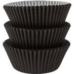 Muffin-Förmchen schwarz