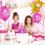 Prinzessinnen Box in pink/gold