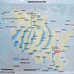 Salzstrukturen SH nach LANU heute LLUR (2005), (Tafel Geologischer Lehrpfad)