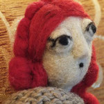 Art Doll Needle Felted Priscilla