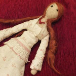 Art Doll Needle Felted Ofelia