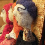 Art Dolls Needle Felted