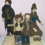 Art Dolls Needle Felted Pupillae