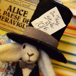 Art doll Needle Felted White Rabbit