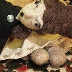 Art Doll Needle Felted Cornelia