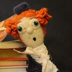 Art Doll Needle Felted the Mad Hatter