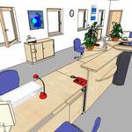 09 Arbeitsplätze mit Empfangstresen