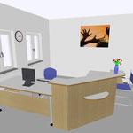 05 Empfangstresen mit Arbeitsplatz