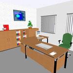07 STYSTOTEC-Tisch mit Sichtblende