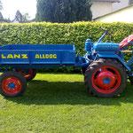 Lanz Alldog A 1215  Baujahr:1953 - 1954  Hubraum: 553  PS: 12  Eigner: Markus Mais