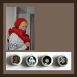 Porzellan, Keramik, Fliesen, Fotos eingebrannt, Andrea Weinke, Die anderen Bilder, info@die-anderen-bilder.de Porzellanfoto auf Grabsteinen