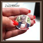 Grabbild Porzellanbild Grabschmuck Foto auf Porzellan Medalion Erinnerung Andrea Weinke-Lau