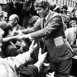 """Robert Kennedy"" | silver gelantine print | 30x40 cm | 1986 | Seattle"