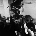 """Jimi Hendrix"" | silver gelantine print | 30x40 cm | 1968 | Seattle"