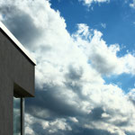 Inspiration Fassade mit Eckfenster.