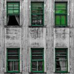Fachada. Técnica Cut Out. Distinguida con 1 premio en Concursos Fotográficos del Grupo Aficionados a la Fotografía en Flickr con más de 4000 miembros.  PVP. 40 €