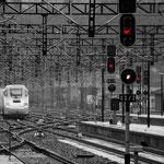 Estación ferrocarril A Coruña. Distinguida con 3 premios en Concursos Fotográficos del Grupo Aficionados a la Fotografía en Flickr con más de 4000 miembros PVP. 40 €