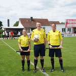 HL Gespann Christian Stübing mit den Assistenten Wiebke Schneider und Christian Golditz