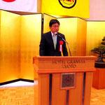 来賓挨拶:天谷直昭近畿運輸局長