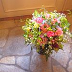 春のお花満載ブーケ