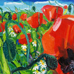 Mohnfeld 130x100 cm verkauft/ sold