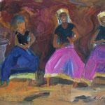 Traditioneller Tanz, verkauft