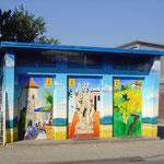 Trafostation  GGEW  Bensheim