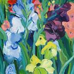 Gladiolen 130x100 cm , verkauft/ sold