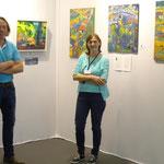 mit Galeristin Annemarie Ambrosoli  I.T.V. Holz-Art Gallery Austria