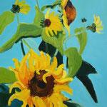 Sonnenblumen 130x100cm