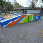 Auftrag für Volksbank Bergstraße  Skatepark HP