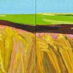 Felder 2-teilig 260x100 cm verk/sold