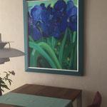 Lilien 100x80 cm verkauft / sold