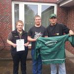 1.Platz Junioren Luftgewehr freistehend
