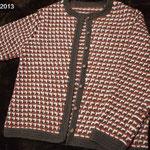 講師科 アフガン編みジャケット